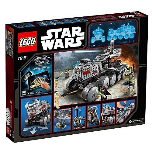 LEGO Star Wars Clone Turbo Tank 75151 Star Wars Toy by LEGO (Image #5)