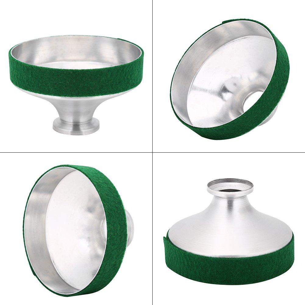 in Lega di Alluminio Sassofono tenore Silenziatore Sassofono antivibrazione in Metallo Tbest Alto sordofono per Sassofono