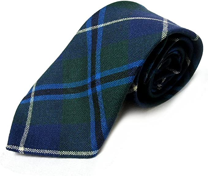 Corbata para hombre, de Ingles Buchan, 100 % de lana con diseño