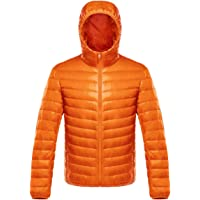 Honour Fashion ダウンジャケット メンズ 軽量 暖かい ウルトラライト ダウン コート コンパクト収納