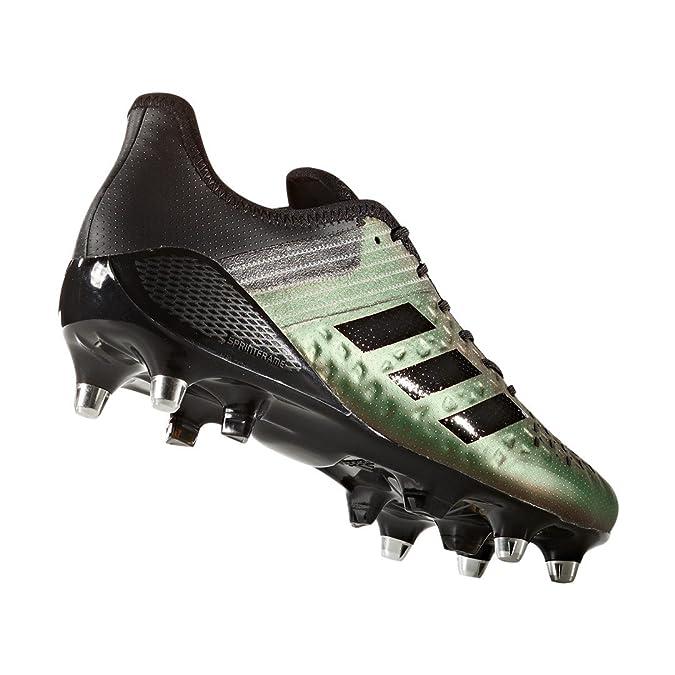 adidas Predator Malice Control SG, Chaussures de Rugby Homme - Différents Coloris - Plusieurs Couleurs (Petmis/Tinnob/Narres), 44 EU
