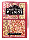Classic Textile Designs, Outlet Book Company Staff and Random House Value Publishing Staff, 0517693291