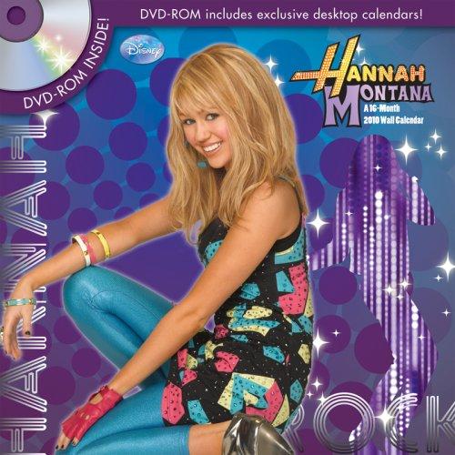 Hannah Montana 2010 Wall Calendar PLUS BONUS DVD