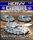 Heavy Gear Blitz: NuCoal - Voltigeur Main Battle Tank