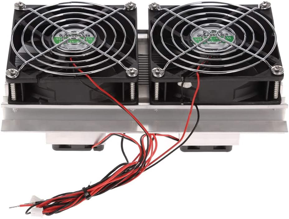 QKP Termoeléctrico Peltier De Enfriamiento Refrigeración Sistema Kit Semiconductor Nevera Portátil Grande del Radiador Frío Módulo De Conducción De Aficio