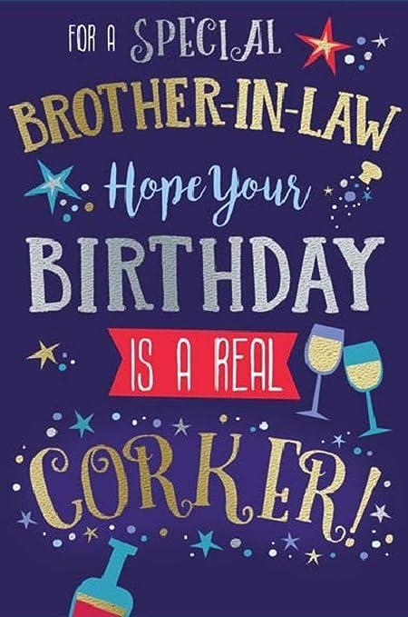 Tarjeta de felicitación de cumpleaños grande para hermano en ...