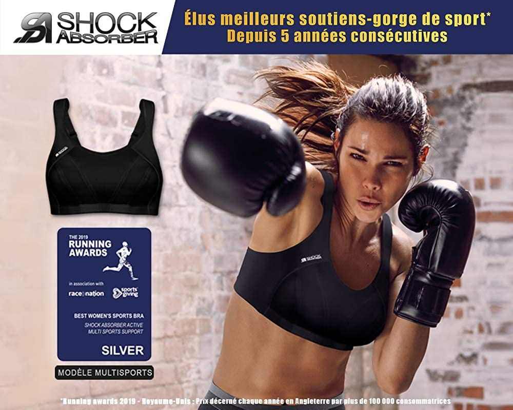 Shock Absorber Active Multi Sports Support Sujetador Deportivo para Mujer