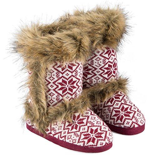 Berydale Bd306, Zapatillas Altas para Mujer Rojo (Rot)