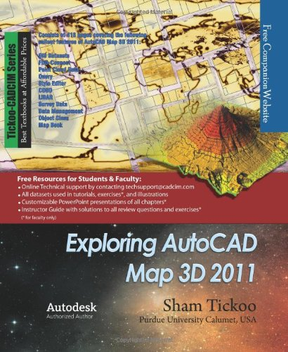 Exploring AutoCAD Map 3D 2011 pdf