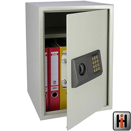 SAFEPRINT para archivadores DIN A4 con candado electrónico, vorbohrungen y tornillos: pared caja fuerte