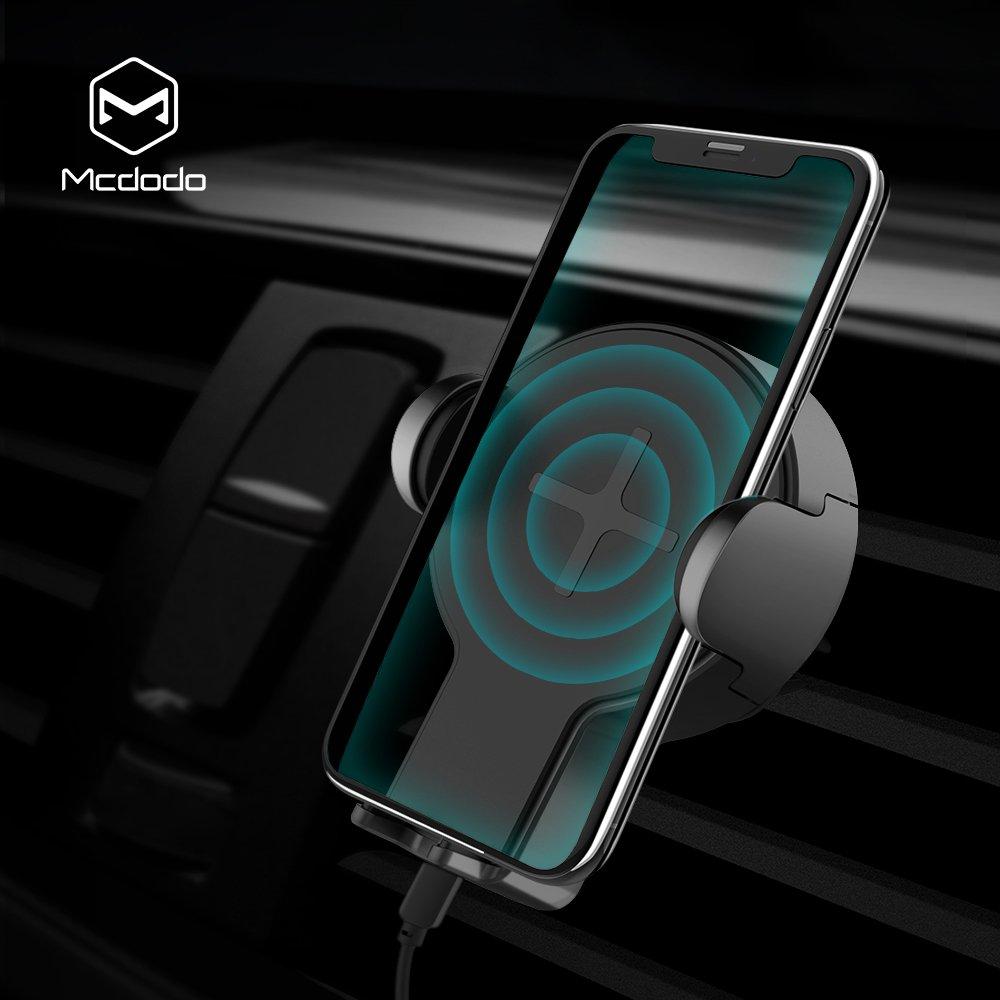 360 °度回転ポータブルワイヤレス高速充電器カーマウントスタンドby MCDODO Tech B079QF9L2R