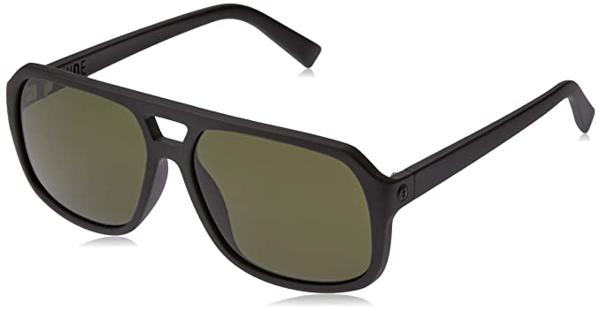 6234fc710d Amazon.com  Electric Eyewear Men s Dude Matte Black Ohm Grey ...