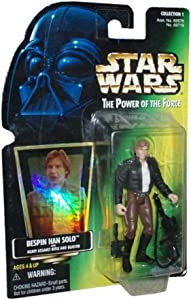 Figura Star Wars Power of The Force Bespin Han Solo