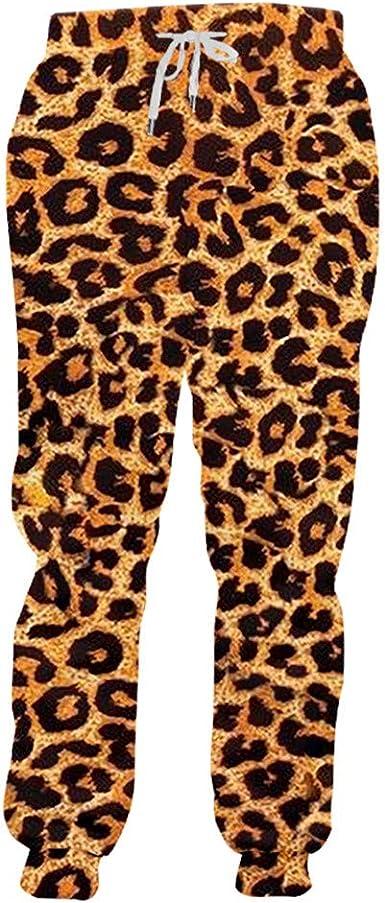 Pantalones chándal Homme Moda Larga Animal Pantalones 3D ...