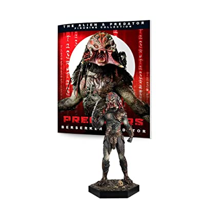 Eaglemoss Alien & Predator Figure Collection #9: Berserker Predator from Predators Resin Figurine: Toys & Games