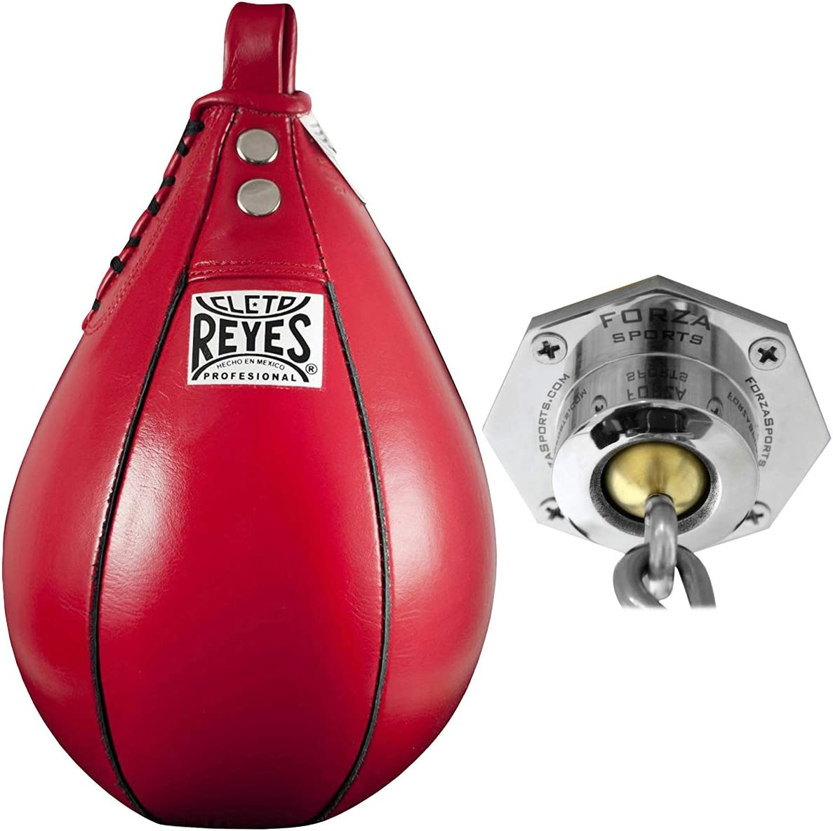 CLETO REYES Pro Speed Bag Kit Includes Bag and Forza Sports Evolution Swivel