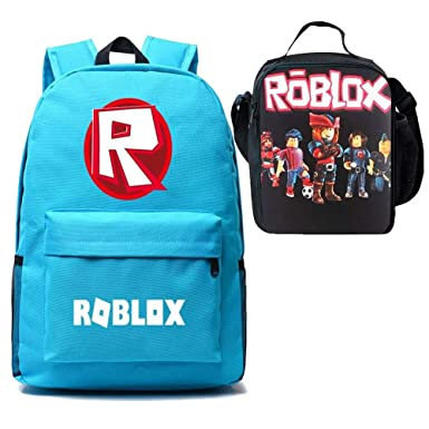 56ce7b11968d Boy Girl Kid Roblox Backpack Insulated Lunch Box School Travel Lake ...