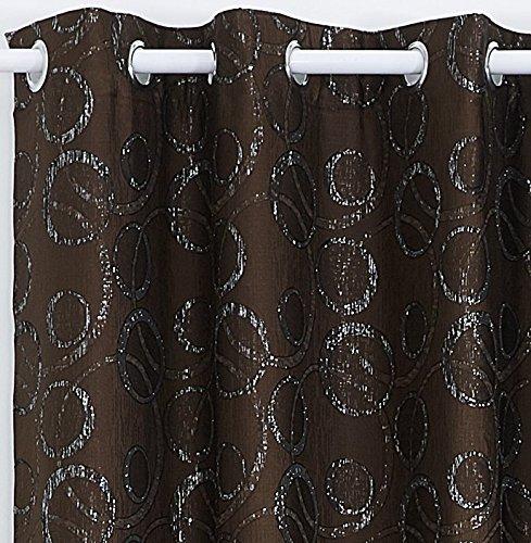 x cortinas modernas para ventanas de saln habitacin dormitorio con ojetes tejido jacquard con hilos de lrex tela gm peso neto kg