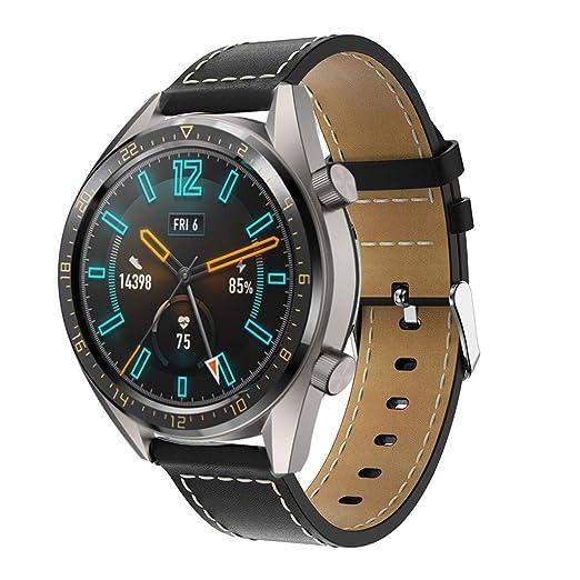 12shage Correa Deportiva para Huawei Watch GT Smart Watch ...