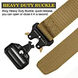 RONGQI Tactical Belt,Military Style Quick Release