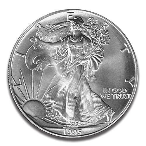 1995 American Eagle (1995 American Eagle One Ounce Silver Bullion Dollar Uncirculated)
