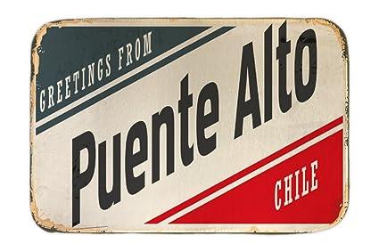 Cama Perro Ciudad Puente Alto Chile impreso 40x60 cm