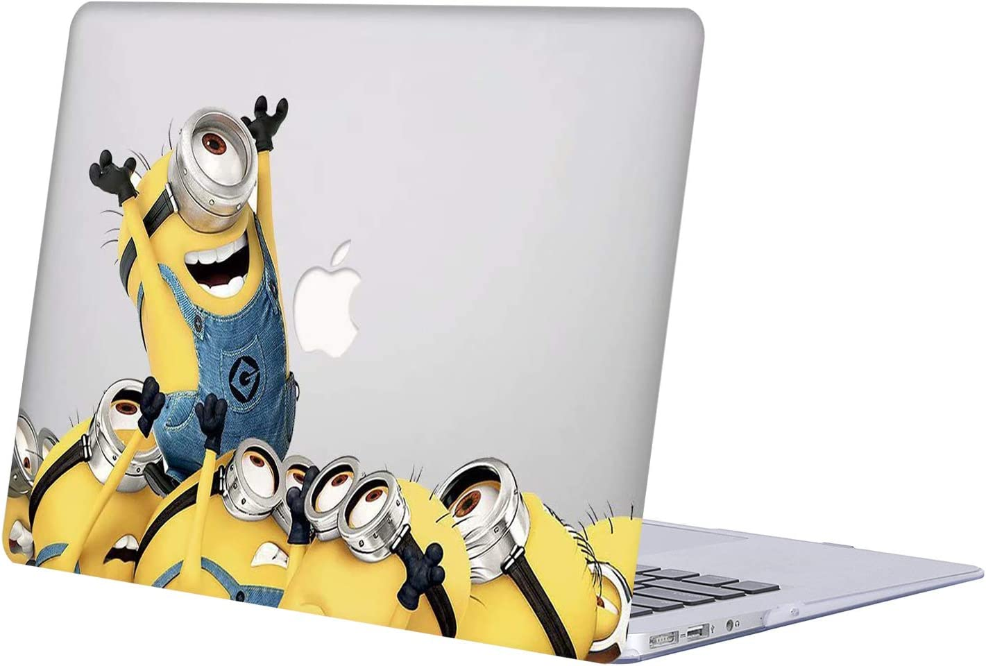 MacBook 12 inch Case, Model A1534 with Retina Display Newest Version 2017, AJYX Anime Series Plastic Hard Case Laptop Shell Cover - JR158 Minions