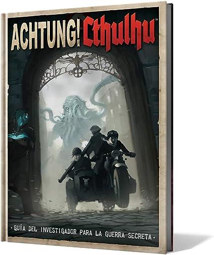 Comprar juego de mesa: Edge Entertainment-Guía del Investigador para la Guerra Secreta-Achtung Cthulhu-Español, color (EEMOAC02) , color/modelo surtido