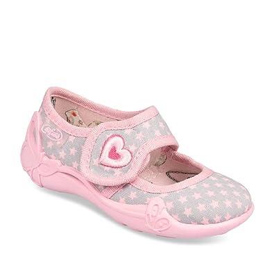 vente chaude en ligne 53125 94aa5 CHAUSSEA Chaussons Rose Fille: Amazon.fr: Chaussures et Sacs