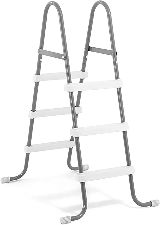 Intex Escalera para Piscinas de hasta 91 cm de Altura, Gris: Amazon.es: Jardín