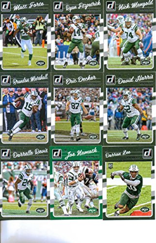 9cbbfec36 2016 Donruss Football New York Jets Team Set of 11 Cards  Matt Forte( 208)