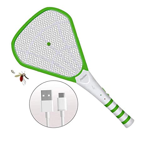AQWWHY Fly Swatter Zapper Racket, Murciélago Asesino de ...