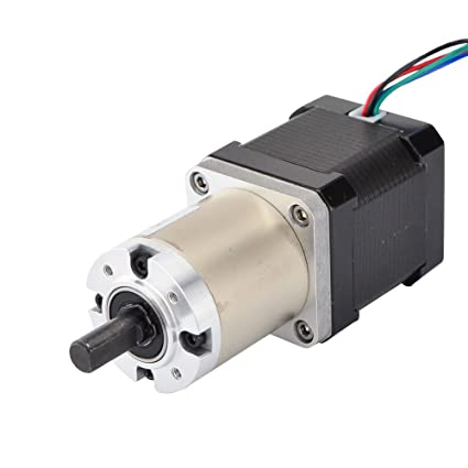 STEPPERONLINE 51:1 Planetary Gearbox High Torque Nema 17 Stepper Motor  Precision Camera DIY