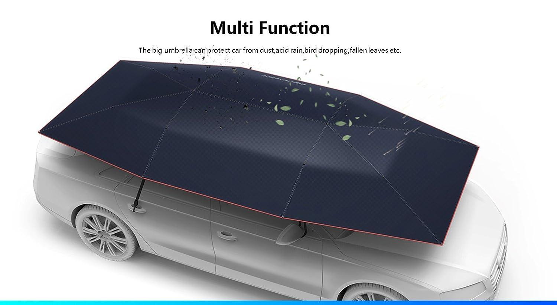 Amazon.com: Car Tent Carport with Remote Control Folded Portable ...