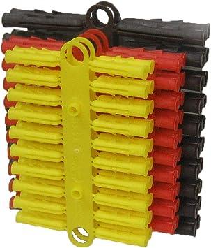 20 Rawlplug Hammer in Fixing 5 x 40mm masonry fixing raw plug /& screw wall plug