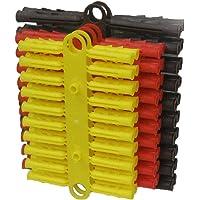 100x Wall Plug Set Raw Rawl Plugs Dowel 3 Common Sizes Tool Box DIY  Drills UK