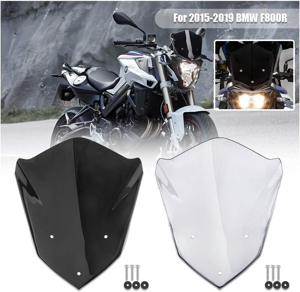 Fumo FATExpress per B-M-W F800R Iniezione moto Parabrezza Flusso daria Deflettori schermo Protezione parabrezza Flyscreen 2015 2016 2017 2018 2019 Accessori F800 R