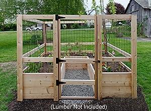 Amazon.com : Deer-proof Just Add Lumber Vegetable Garden ...