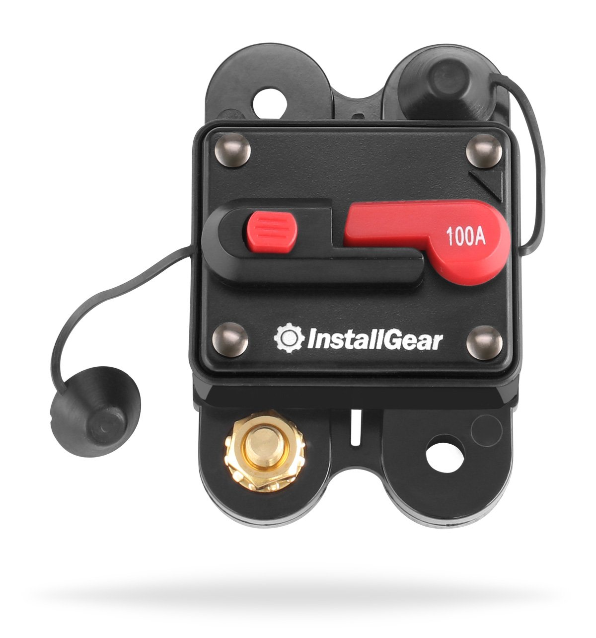 InstallGear 250 Amp Manual Reset Circuit Breaker