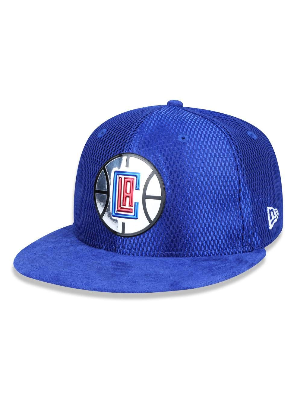 b85ef3e8abce9 Amazon.com   New Era Los Angeles Clippers 2017 NBA Draft Official 9FIFTY  Snapback Hat -Blue   Sports   Outdoors
