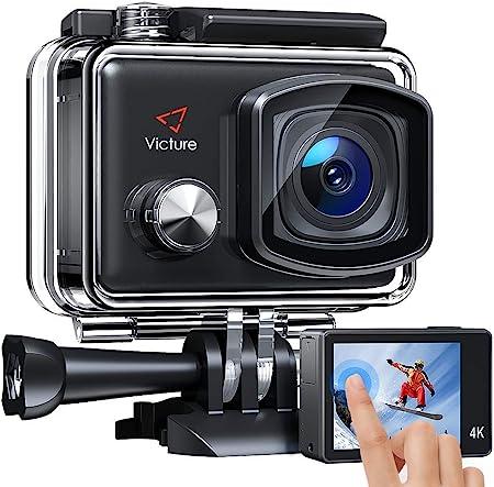 【進化版】Victure アクションカメラ 2インチタッチパネル 4K高画質