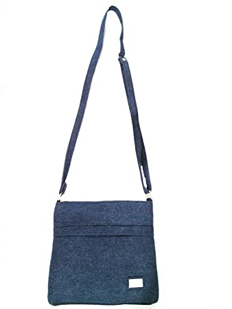 Buy SHOPATHON INDIA Women s Denim Blue Sling Bag Online at Low Prices in  India - Amazon.in ac208c2e883f8