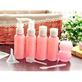 YIMAN Travel Bottles Small bottles for makeup Cosmetic Toiletries Liquid Containers Leak Proof Portable Travel Plastic bottles