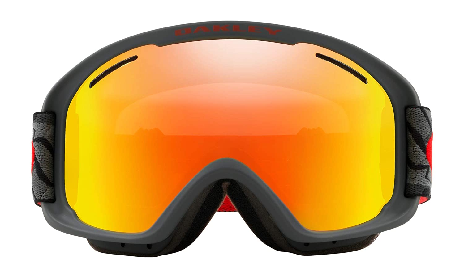 59b42aa19b Amazon.com   Oakley O Frame XM 2.0 Snow Goggles Camo Vine Night with Fire  Iridium and Persimmon Lens   Sports   Outdoors
