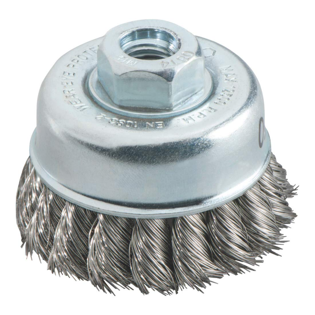 Metabo 623711000 Steel-Wire Cup Brush, Green, 100 mm M14