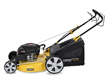 Powerplus POWXG60220 Walk behind lawn mower Gasolina Negro ...