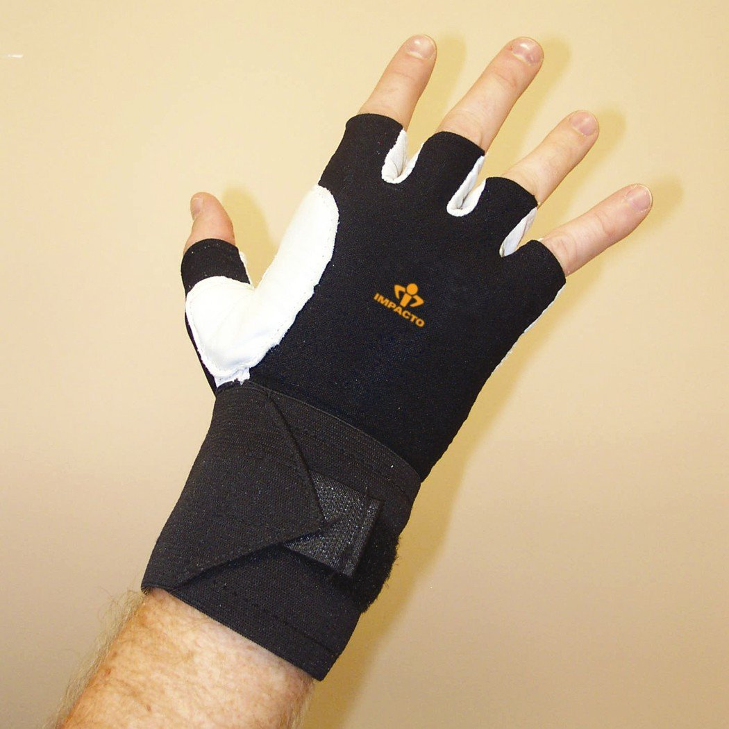 Impacto Ergonomic Anti-Impact Glove with Wrist Support (PAIR) - Medium - PAIR