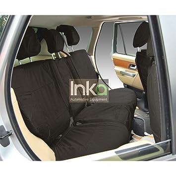 Black Inka INK-WSC-0161 Seat Cover
