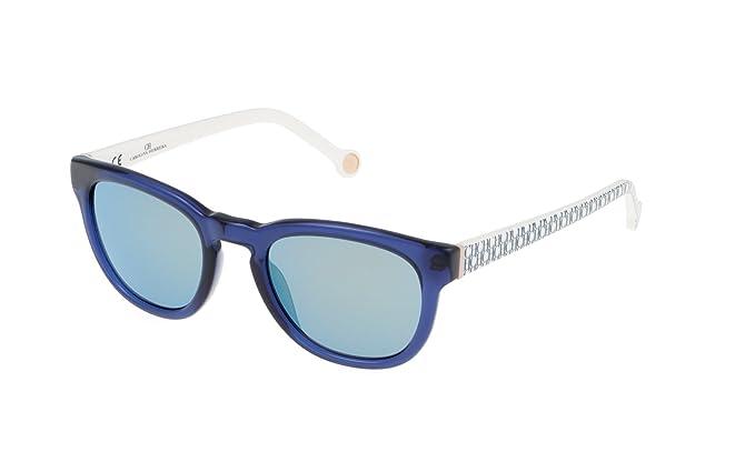 Carolina Herrera SHE60550T31V Gafas de sol, Azul, 50 para ...