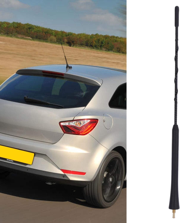 YeBetter Antenna Un Stelo Corto 30 Cm per Seat Ibiza 6L 6J Leon 1M 1P Altea 5P